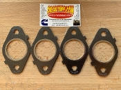 Multi Layered Exhaust Manifold Gasket Set - Round Port