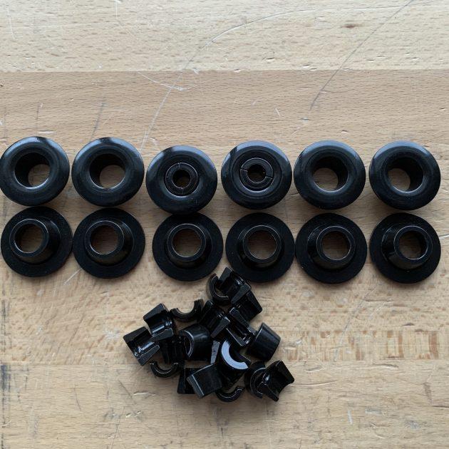 10 Deg retainer & locks