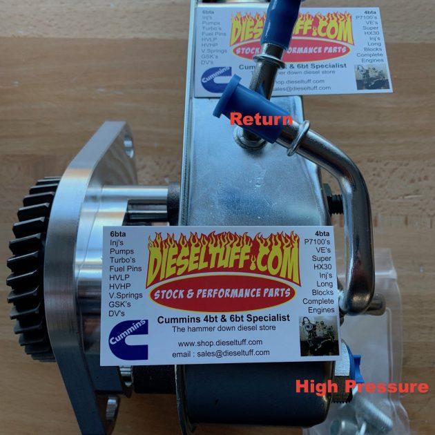 Cummins power steering pump