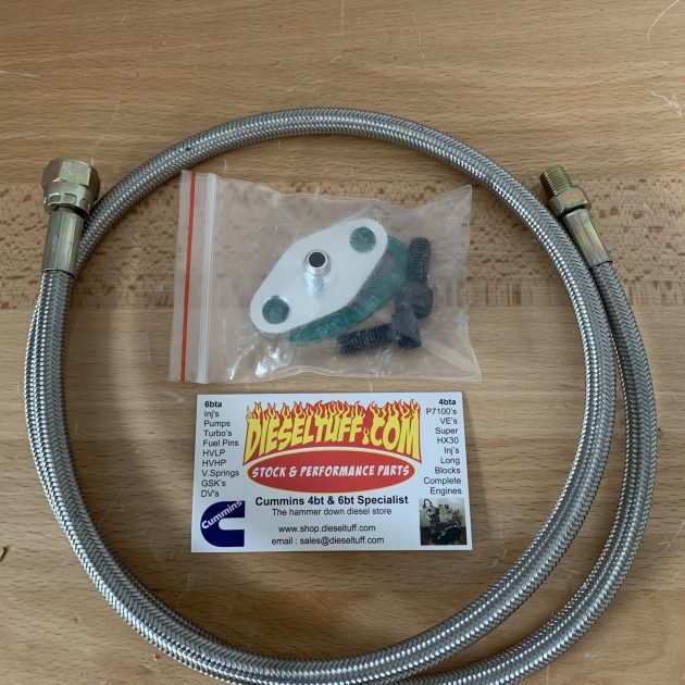 Super HX30W Oil line kit